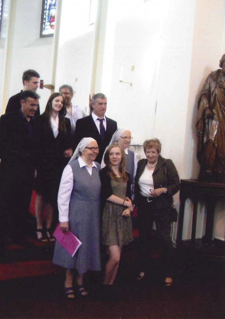 Sister Maria Carla group 1